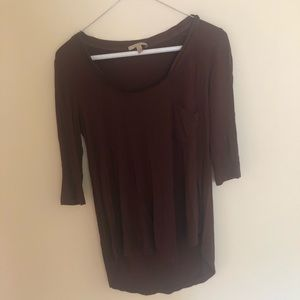 Size XS quarter sleeve shirt from Anthropologie